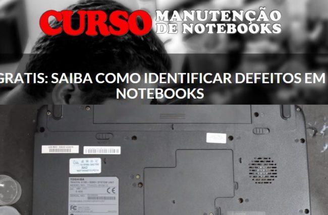 Conheça o Curso Manutenção de Notebooks Online